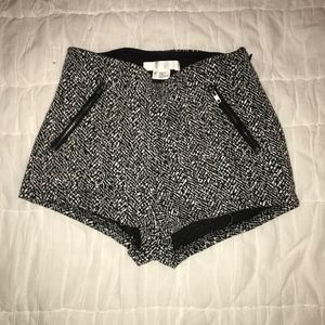 black tight shorts urban outfitters